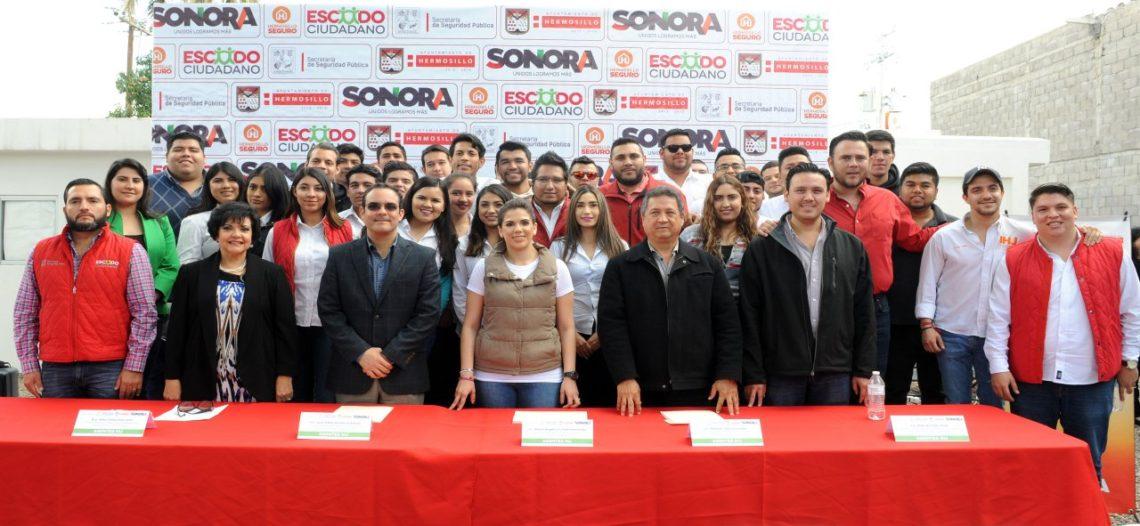 Trabajará Escudo Ciudadano con jóvenes de Hermosillo GS