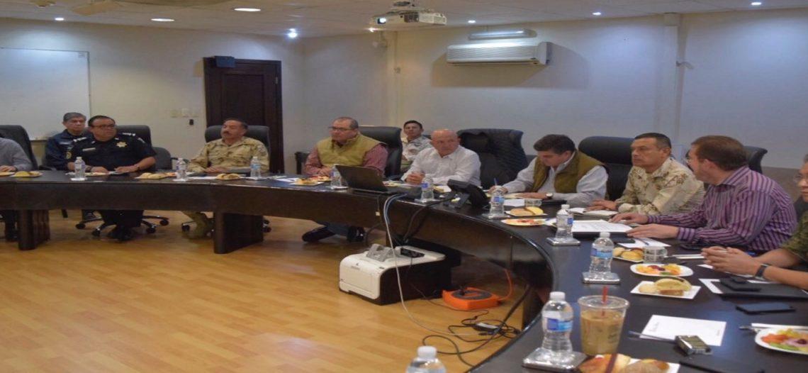 Lleva a cabo Grupo de Coordinación primera reunión del año en materia de seguridad