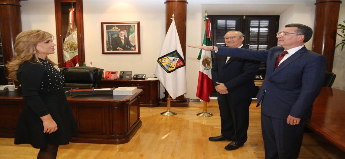 Son Enrique Claussen y Pedro Ángel Contreras nuevos titulares de Secretaría de Salud e ISSSTESON