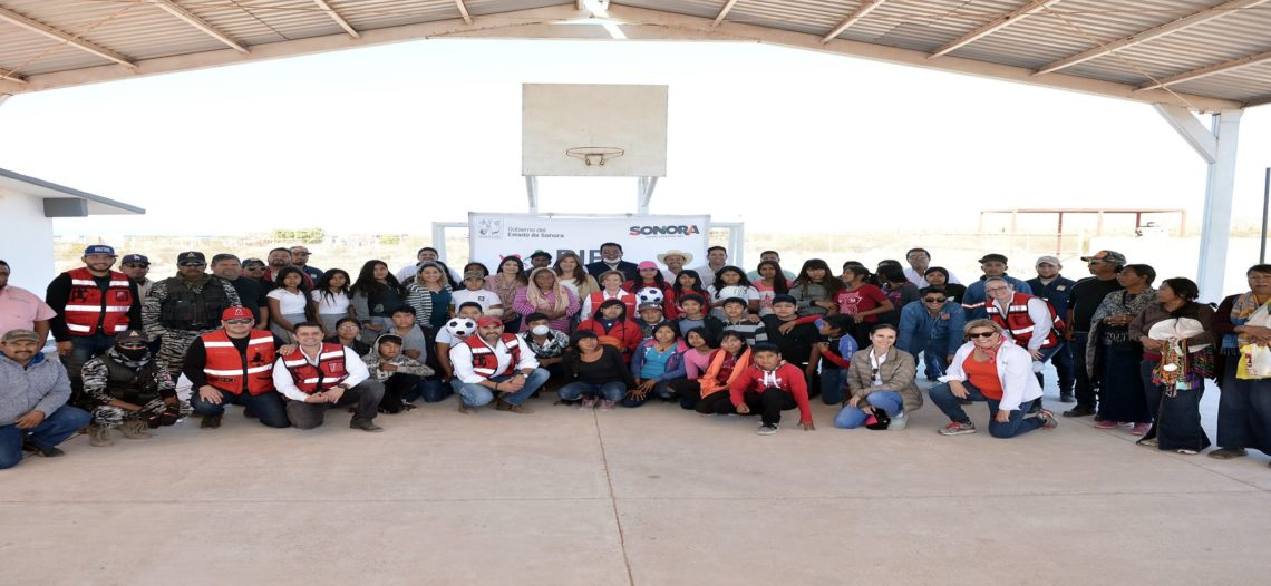 Atiende Presidenta de DIF Sonora a etnia Seri