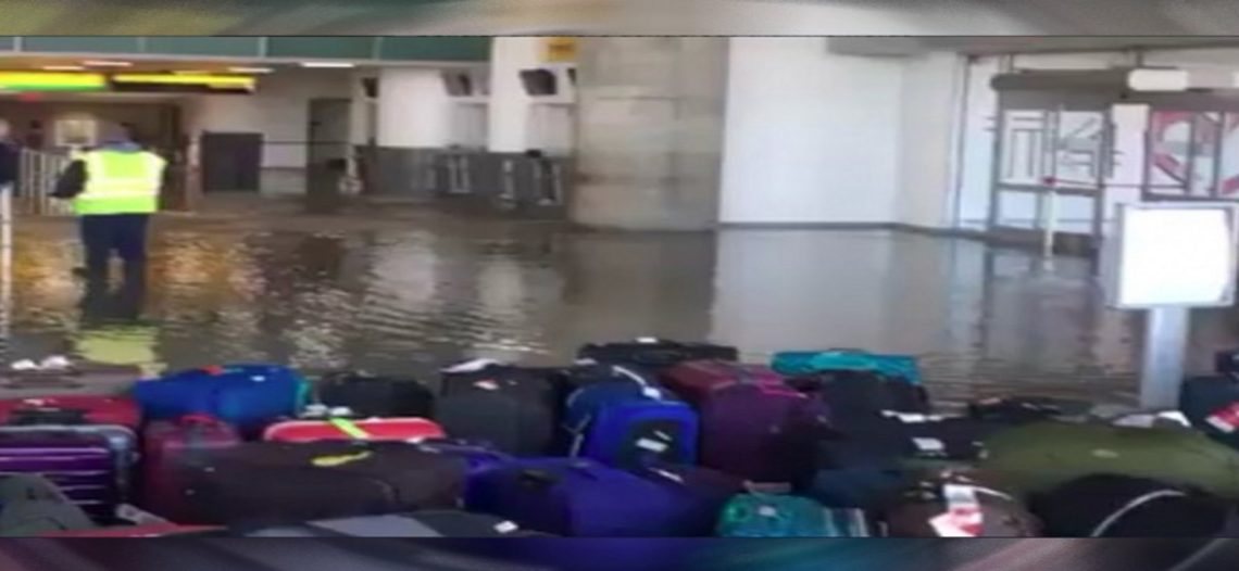 Desalojan aeropuerto JFK de Nueva York por fuga de agua