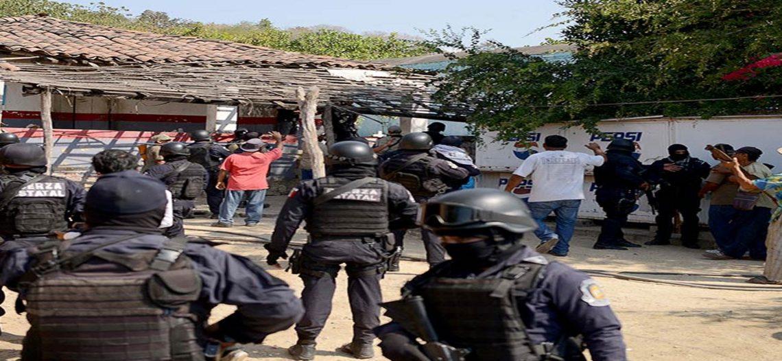 Enfrentamientos dejan 11 muertos en Acapulco