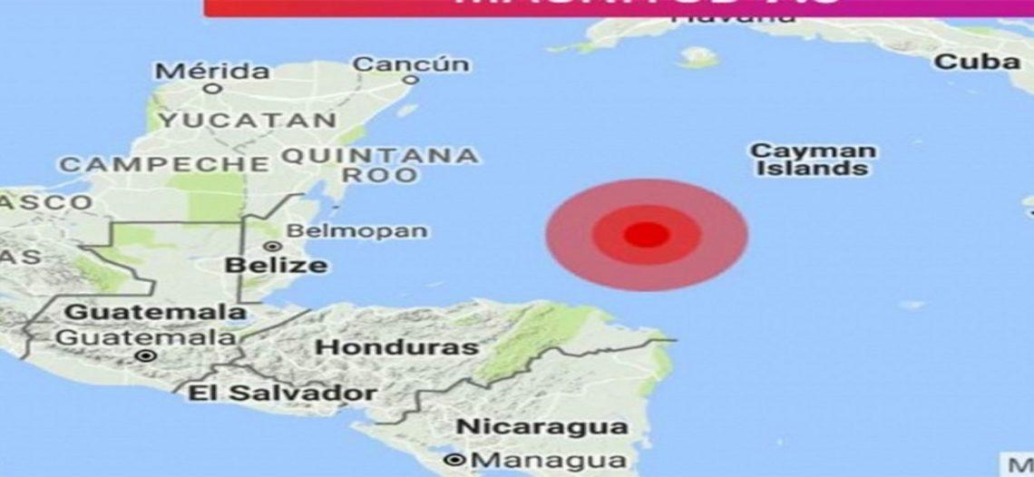 Sismo en Honduras se percibe en QRoo y Yucatán
