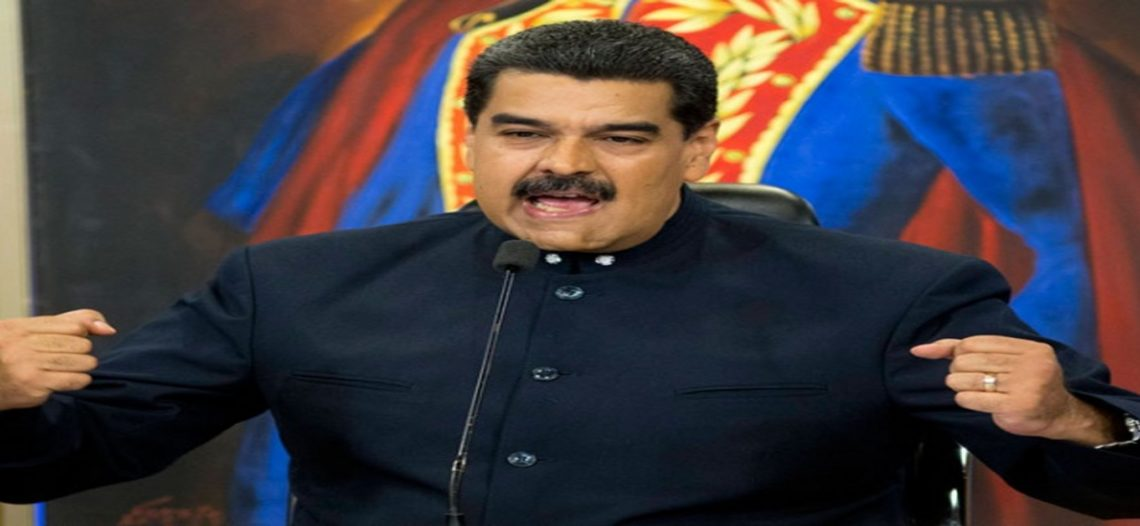 Tendrán terroristas mismo fin que piloto: advierte Maduro