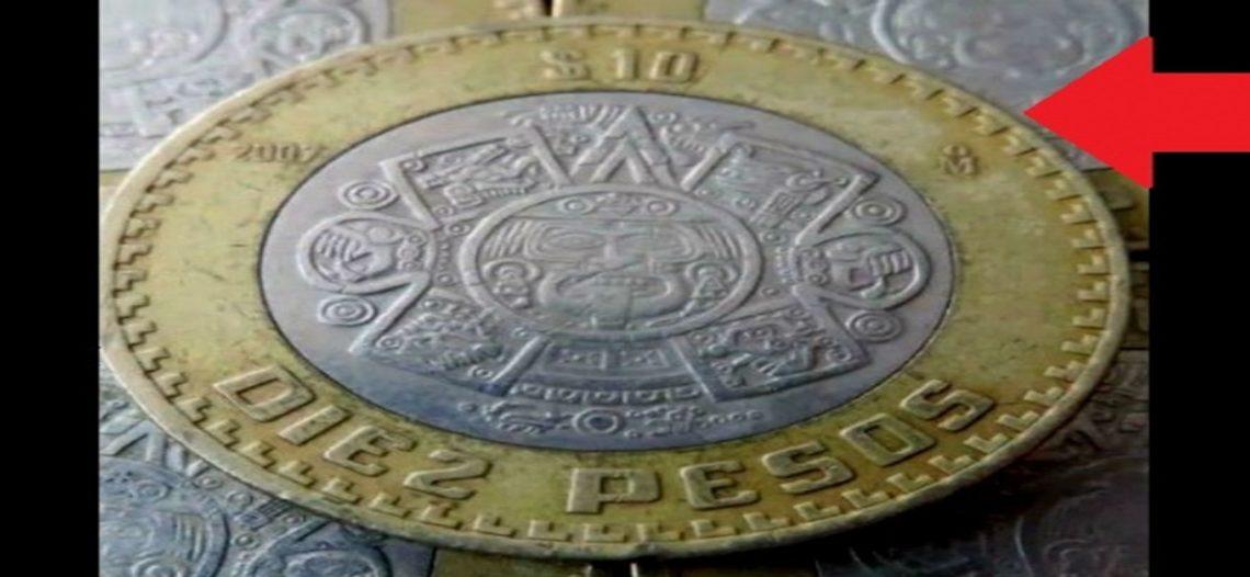 Raras monedas de 10 pueden valer hasta 100 veces más