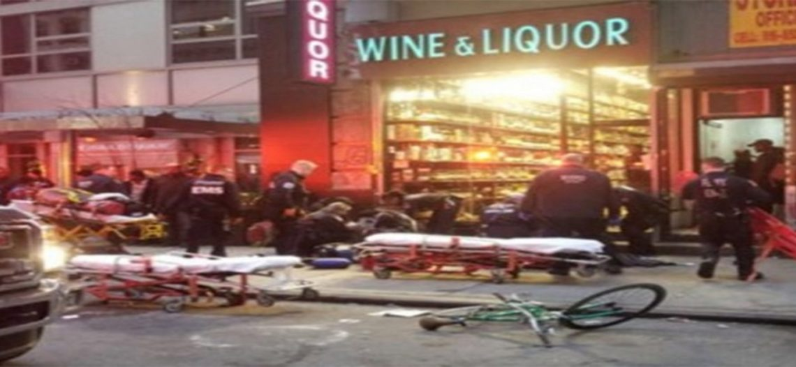 Tiroteo en Nueva York deja tres heridos