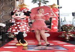 Minnie Mouse recibe su estrella en el Paseo de la Fama Hollywood