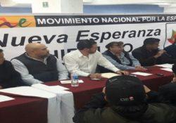 Renuncian 6 mil al PRD en Hidalgo; se suman a Morena