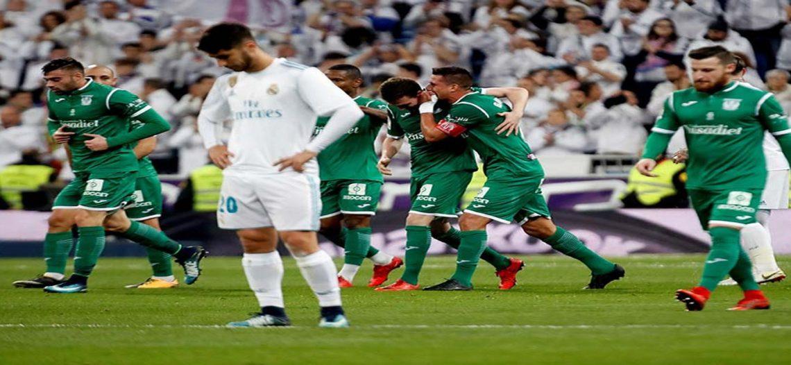 Real Madrid dice adiós a la Copa del Rey