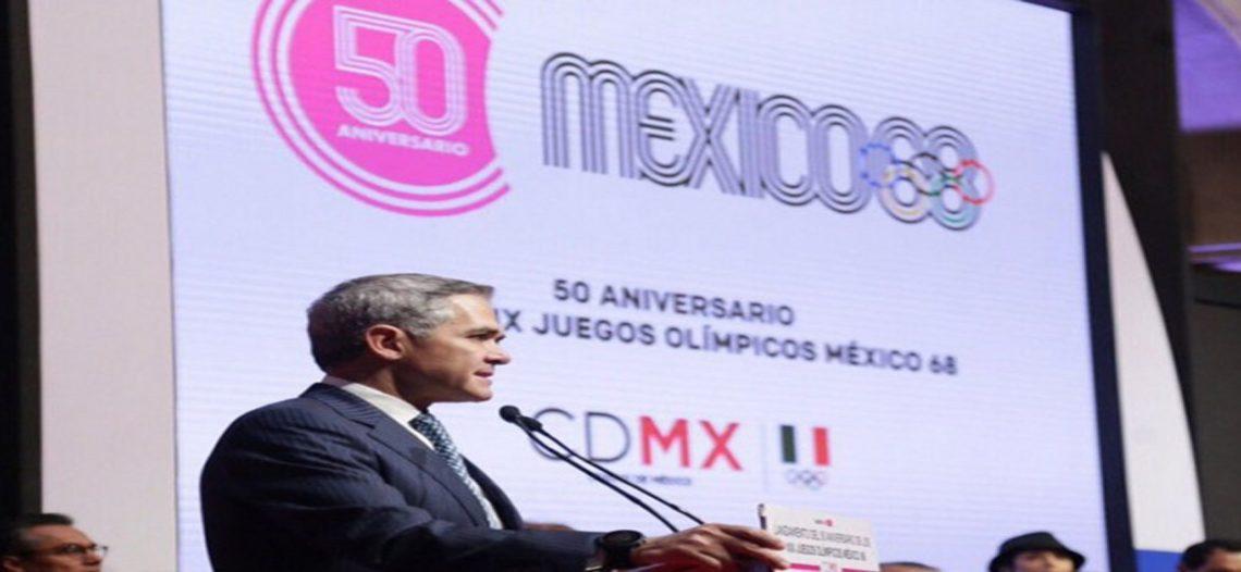 Gran festejo por 50 aniversario de México 68