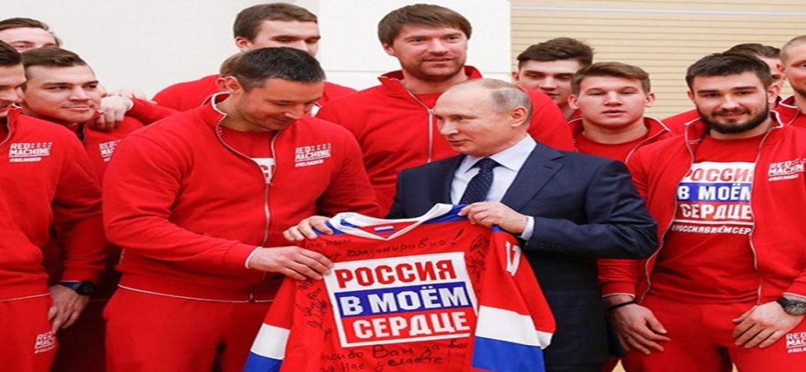 Putin pide perdón a sus atletas por no protegerlos