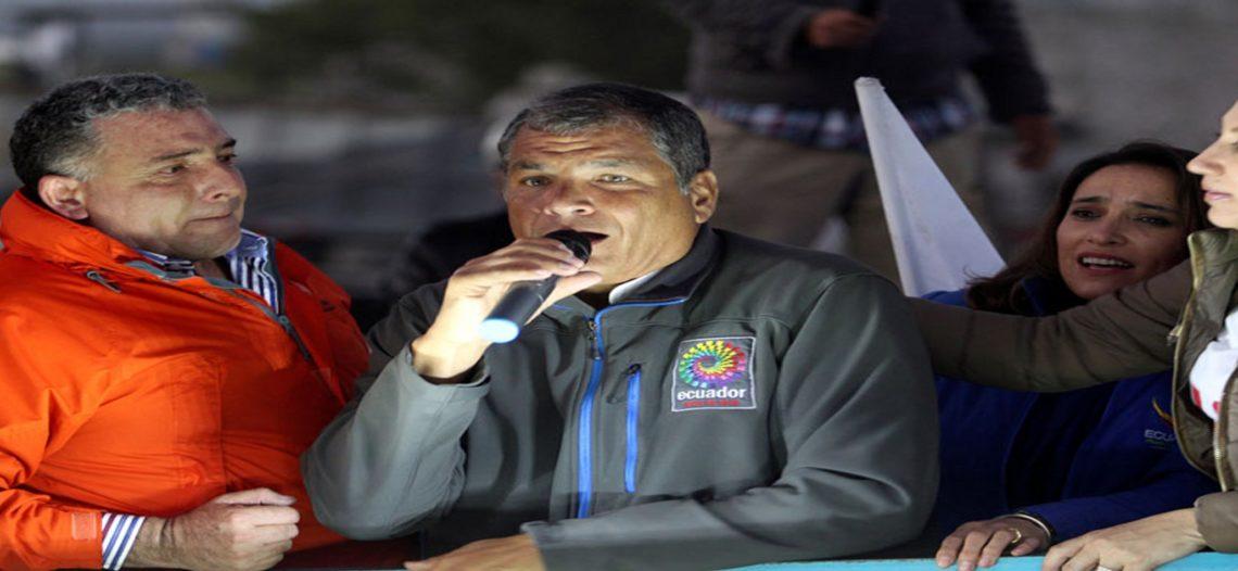 Fiscalía ecuatoriana cita a declarar al expresidente Correa