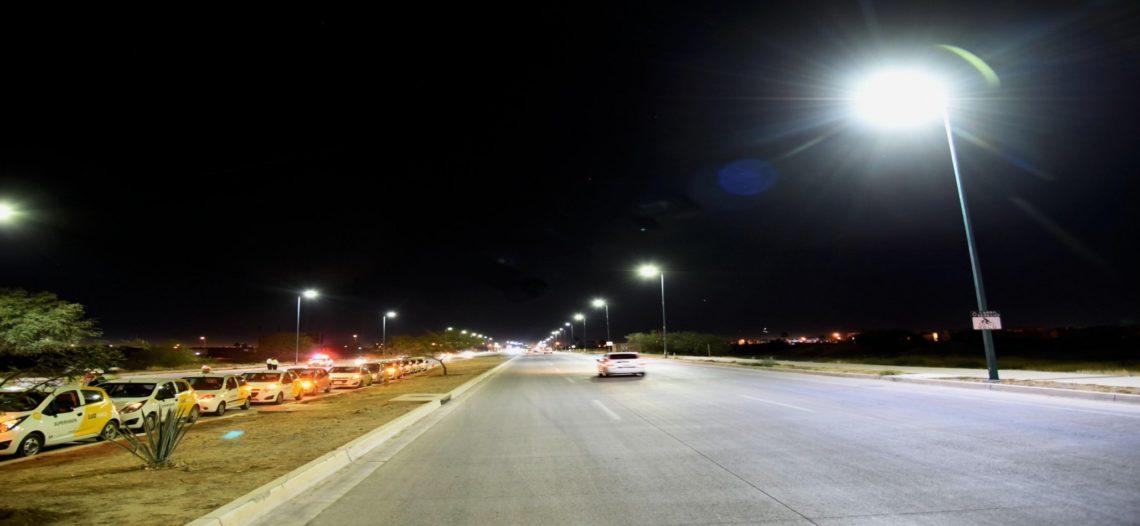 Avanza reconversión del Alumbrado Público en Hermosillo