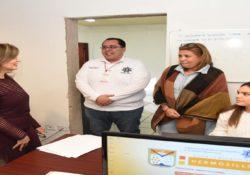 Se reúne Presidenta Municipal con mandos de Seguridad Pública