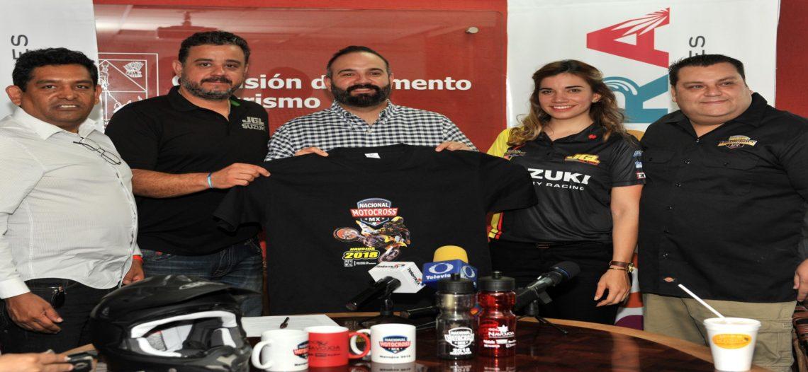 Promueve Cofetur el deporte con el Nacional de Motocross Mx 2018