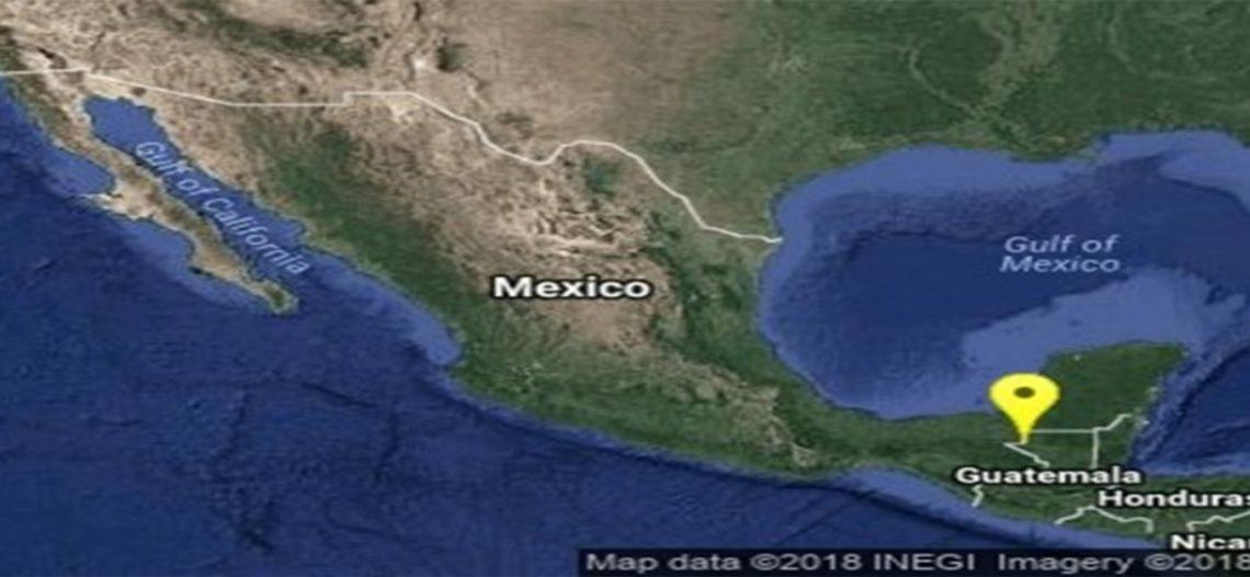 Sismo de 4.3 grados sorprende a Tabasco