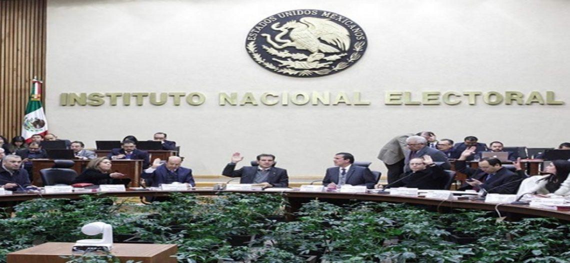 INE llama a partidos a respetar el periodo de intercampañas