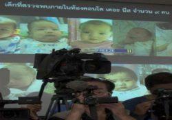Tailandia da custodia de 13 bebés a millonario japonés