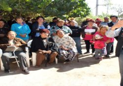 Supervisa Presidenta Municipal instalación de biodigestores en La Victoria