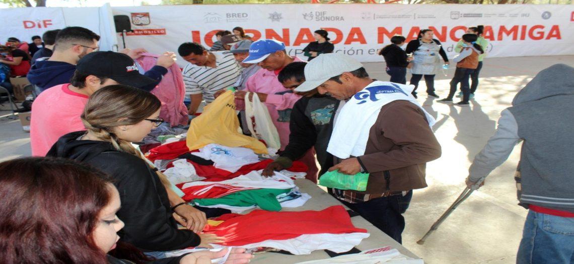 Regresa DIF Hermosillo a sus hogares a personas en situación de calle