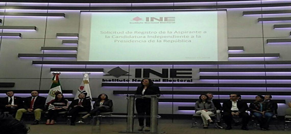 Zavala renuncia al financiamiento público para su campaña