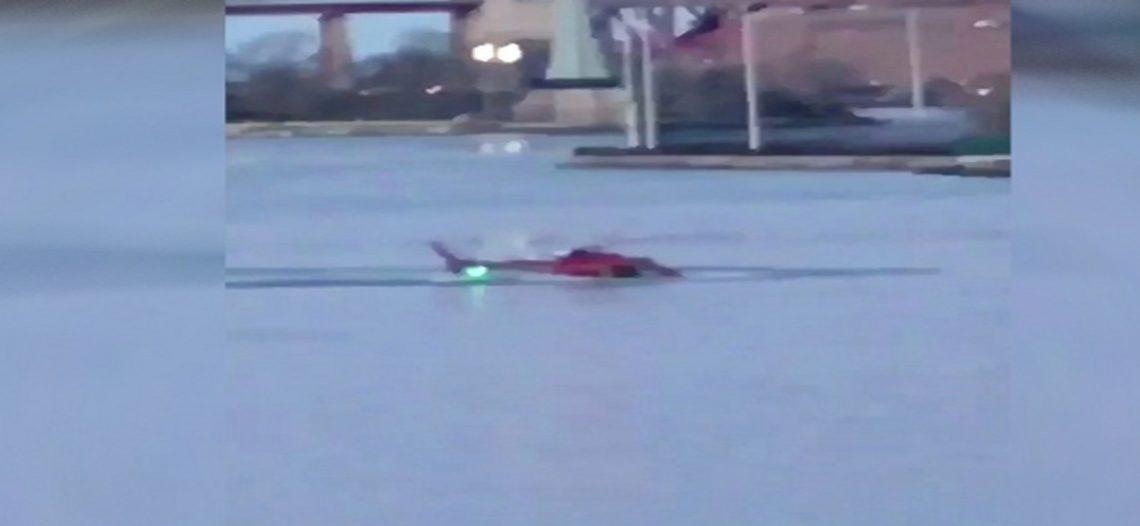 Dos muertos por caída de helicóptero en Nueva York