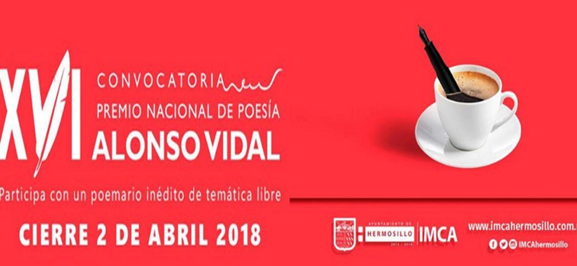Reiteran invitación a participar en el XV Premio Nacional de Poesía Alonso Vidal