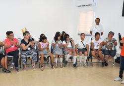 Organiza SEDESSON convivio entre abuelitos y alumnos por Día del Niño