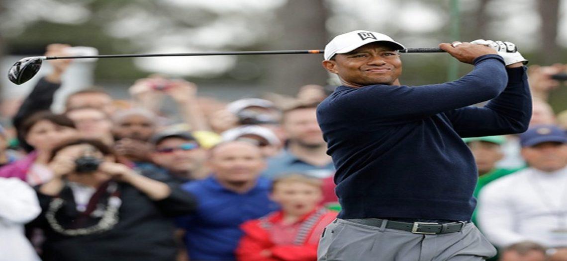 Acapara Woods los reflectores previo al Masters de Augusta