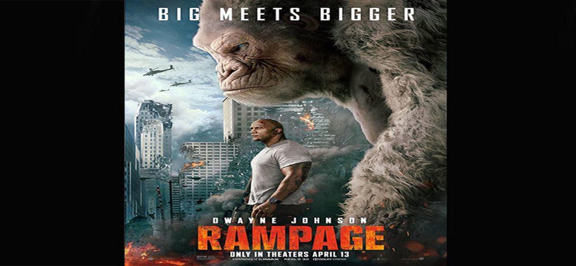 'Rampage' supera a 'A Quiet Place' como la película más taquillera