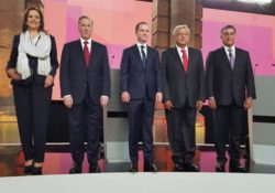 Debate por la silla presidencial; sus gestos los delatan