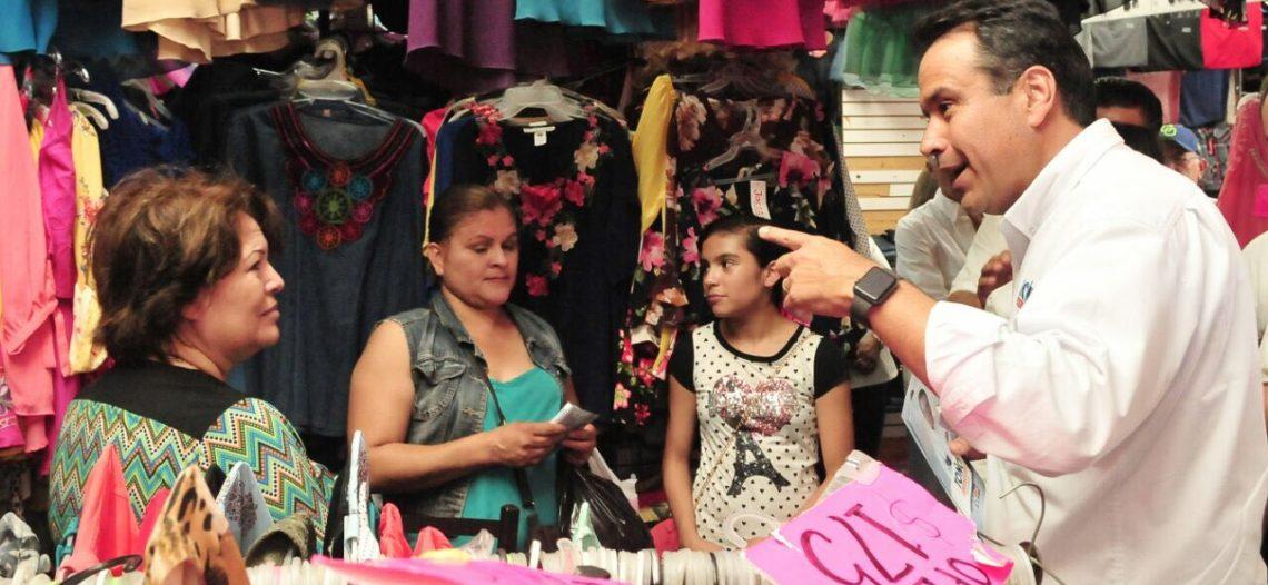 Impulsará Toño Astiazarán desarrollo del comercio local en Cajeme