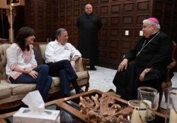 Meade se reunió con el Arzobispo de Monterrey