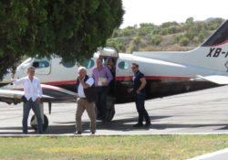 Avioneta usada por AMLO, dentro de la ley si se reporta al INE