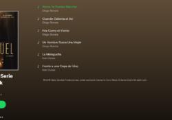 Spotify lanza soundtrack de serie de Luis Miguel