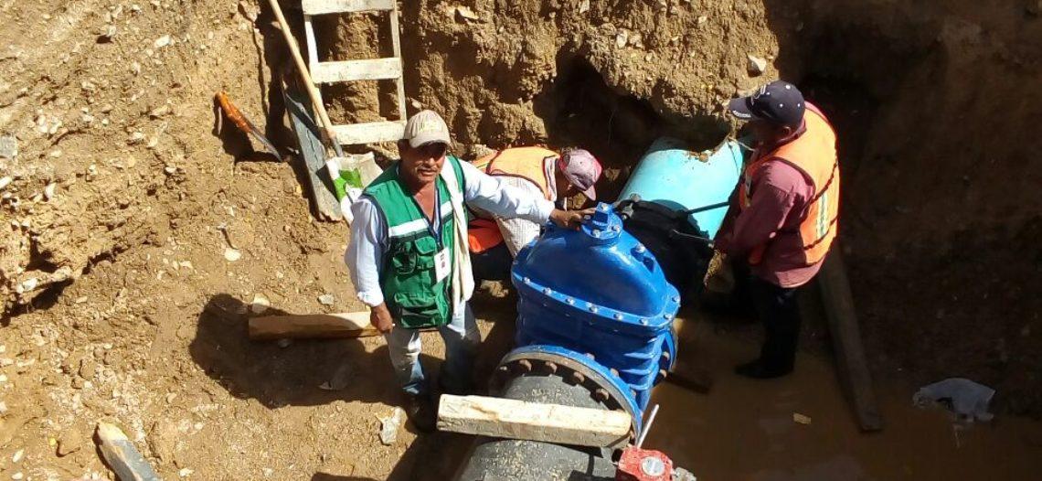 Culminan los trabajos de interconexión de tubería al Nororiente