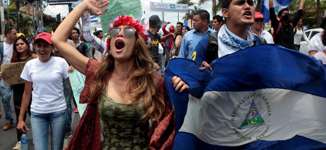 Estudiantes nicaragüenses llaman a paro nacional durante 24 horas