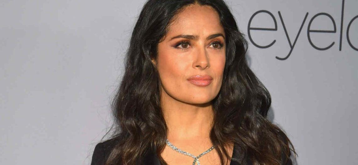 Salma Hayek demuestra su sabor latino al ritmo de salsa