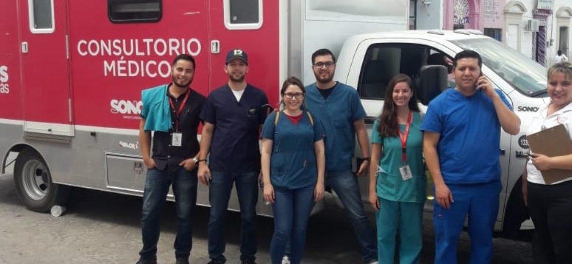 Realiza Secretaría de Salud jornadas médicas en Moctezuma y Nacozari