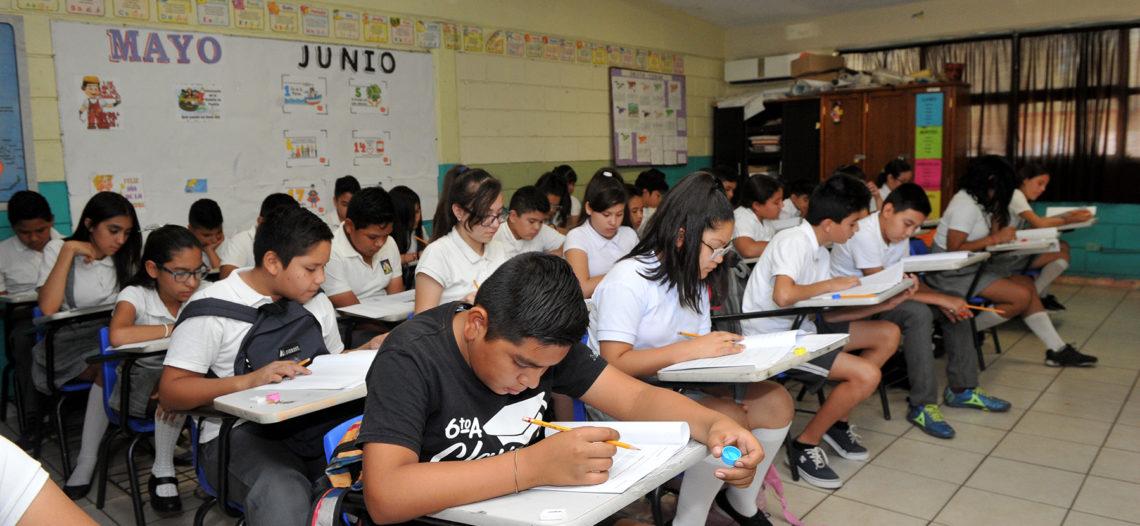 Aplican evaluación PLANEA en sexto grado de primaria