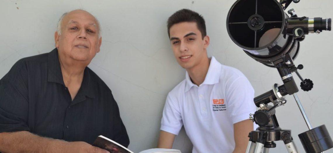 Gana alumno del COBACH primer lugar en Olimpiada de Astronomía
