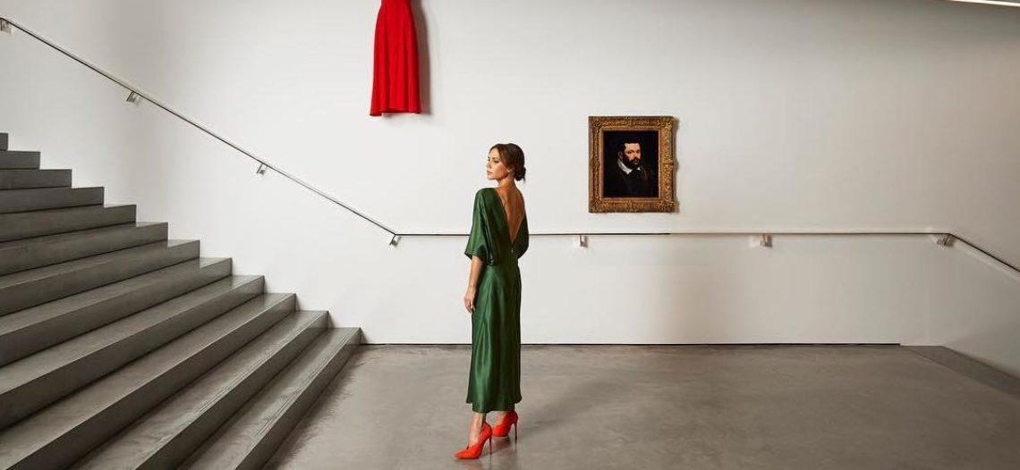Victoria Beckham convierte su tienda en galería de arte