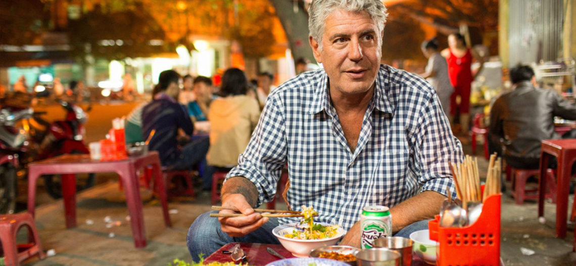 Anthony Bourdain, chef y defensor de los inmigrantes hispanos