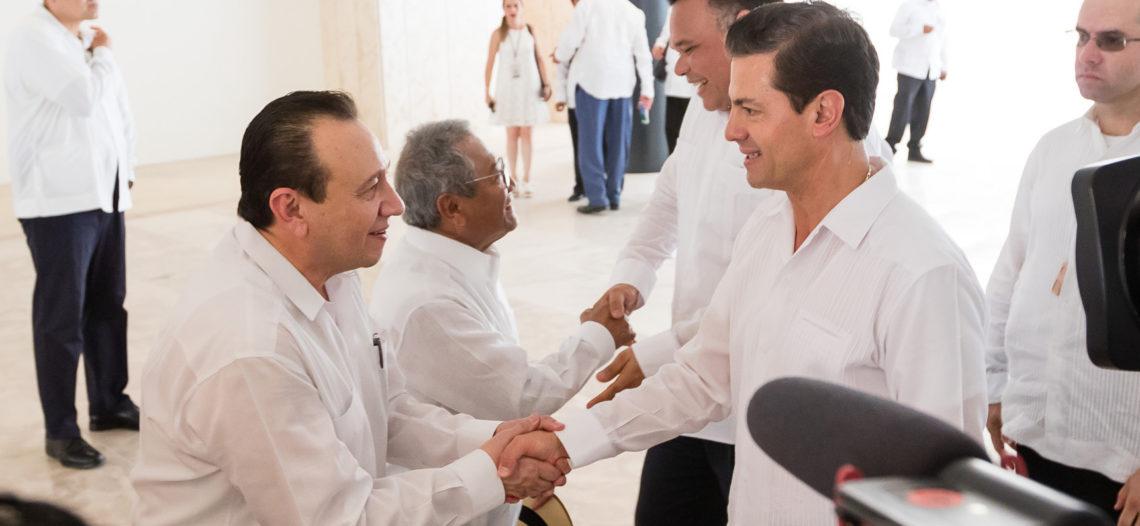 Peña Nieto desea que elección sea una fiesta democrática