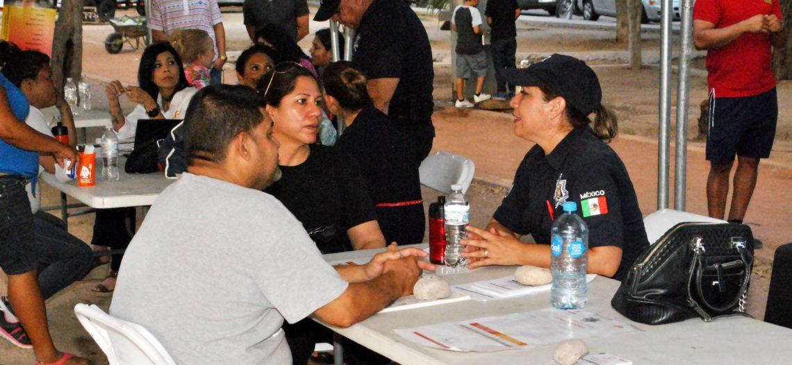 Llevan servicios, deporte y esparcimiento al parque de Altares