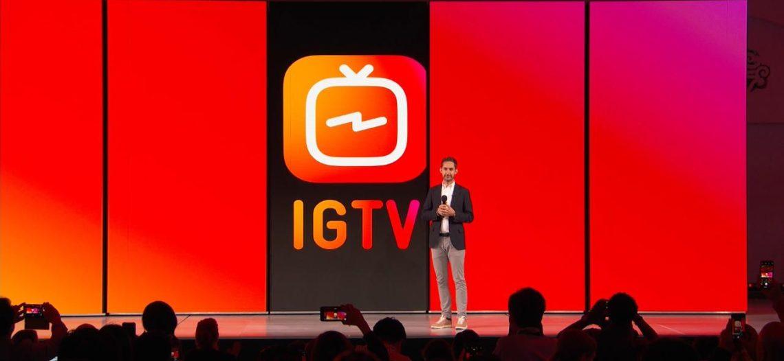 Instagram lanza IGTV, App para videos largos