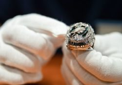 Águilas de Filadelfia recibieron anillos de Super Bowl