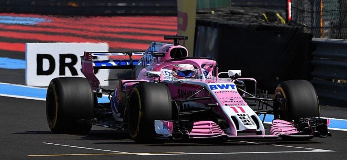 'Checo' Pérez se retiró del Gran Premio de Francia