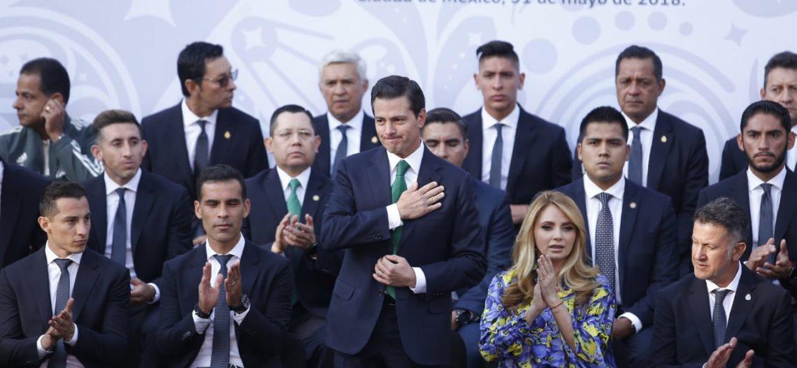 Peña Nieto felicita a la Selección Mexicana por triunfo ante Corea