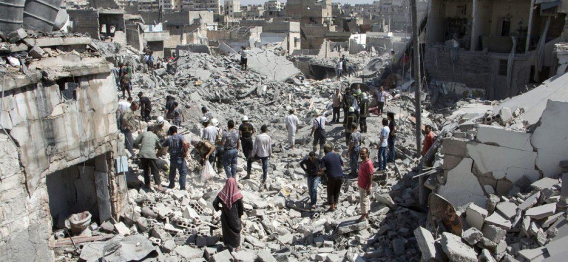 Al menos 35 muertos en Siria tras bombardeo